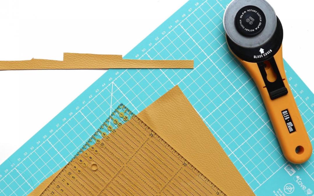 Finta pelle: gli accessori per cucirla
