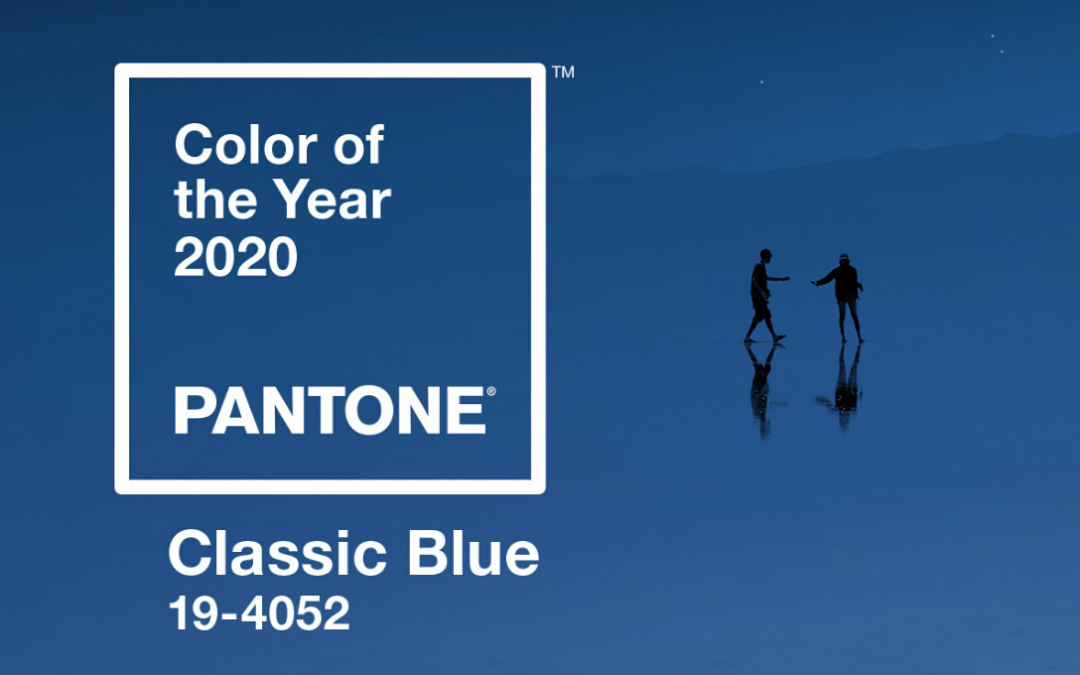 """Tessili per la casa """"Classic Blue"""": colore Pantone 2020"""