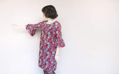 La blusa Jen Lindley di Republique Fabrique diventa abito