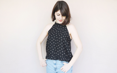 Top con scollo all'americana di Oh, Mother Mine DIY!!
