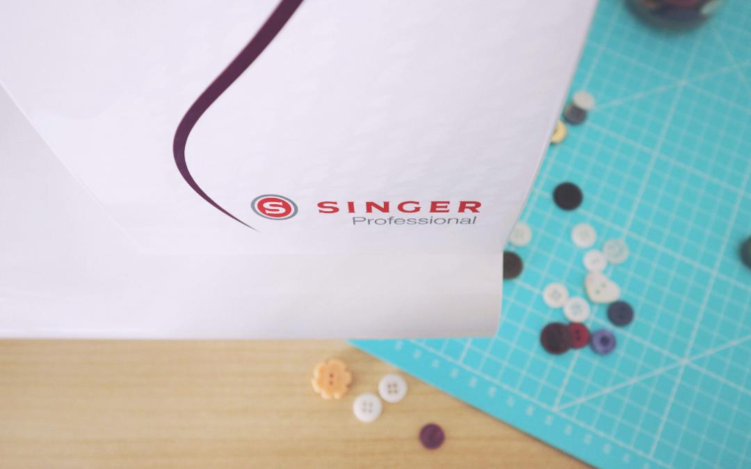 Asole con la macchina da cucire Singer C430