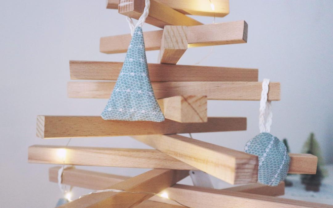 Tutorial: decorazioni per l'albero di Natale in tessuto
